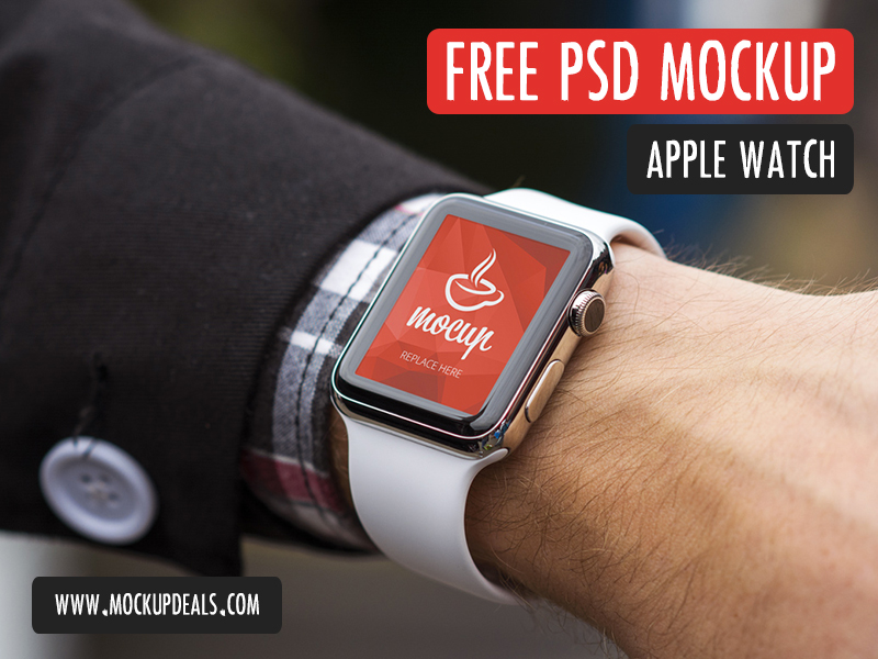 3f58d157b14e8ab92702ed9f1cc461ce - FREE PSD Apple Watch Mockup