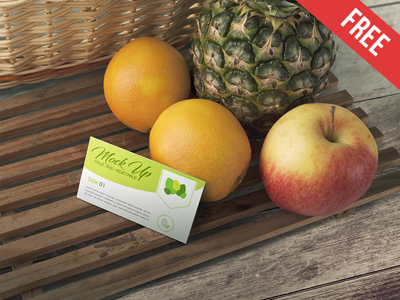437f090b3b6b69171d963ea80830b54c - Fruit and Vegetable - Free PSD Mockup