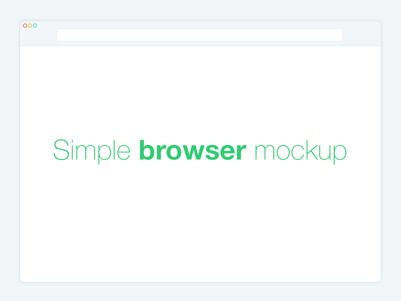 446b4818bdd65f7b9f03fc17a5c4a03a - Simple Browser Mockup