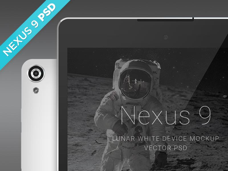 45ed78a23a0f829019a71f06b140a1ee - Nexus 9 Lunar White Mockup