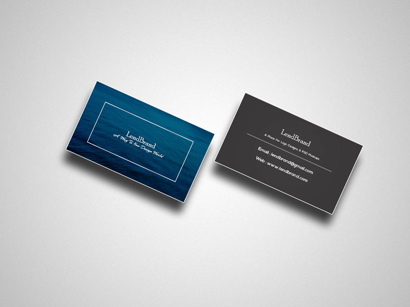 47c2a29a5671e6b1f45f5a19f1136be4 - Free Business Card Mockup | PSD File