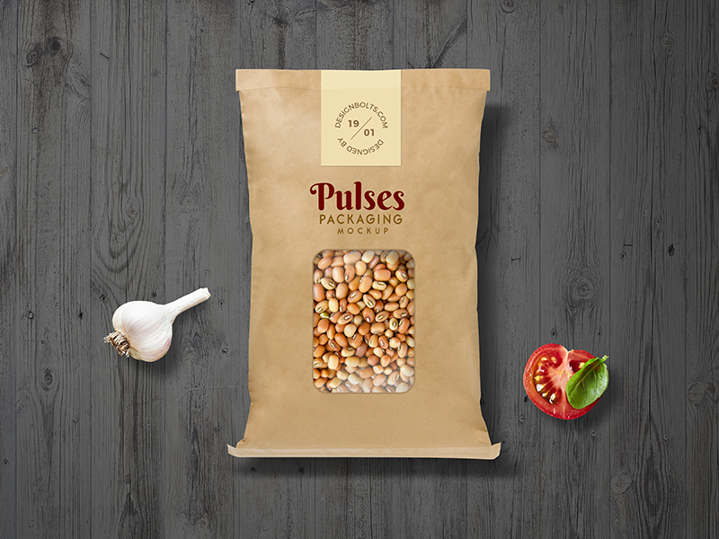 48b8562abba4456a94dd9af929051d46 - Free Pulses Kraft Paper Pouch Packaging Mockup PSD