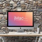 4914e8ebd498b5d0b21e19a080c799b8 150x150 - iMac Mockup Free PSD