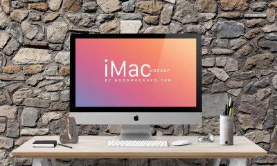 4914e8ebd498b5d0b21e19a080c799b8 400x240 - Free Apple iMac 27-Inches Photo Mockup PSD