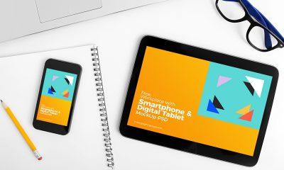 4d210ffd773f9b319b05eb7966abd89d 400x240 - Free Workplace With Smartphone & Digital Tablet MockUp PSD