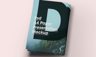4d8fa63a0fe0cb9daec54142cbccfefe 400x240 - Free A4 Paper Brochure/Flyer Mock-Up PSD