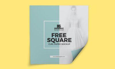 4efafbf99703c4068f8895d693ba45b5 400x240 - Free Square Curl Paper Mockup