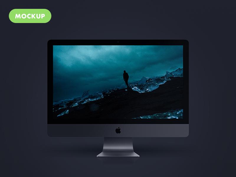 4f1279a5fe2bee4d9e4c0c7b96a75fd2 - Free Imac Pro New 2017 PSD Mockup