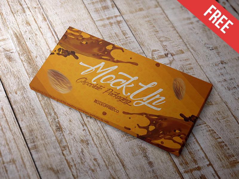 50d02847e75367080686d5b9c17b9506 - Chocolate Packaging - Free PSD Mockup