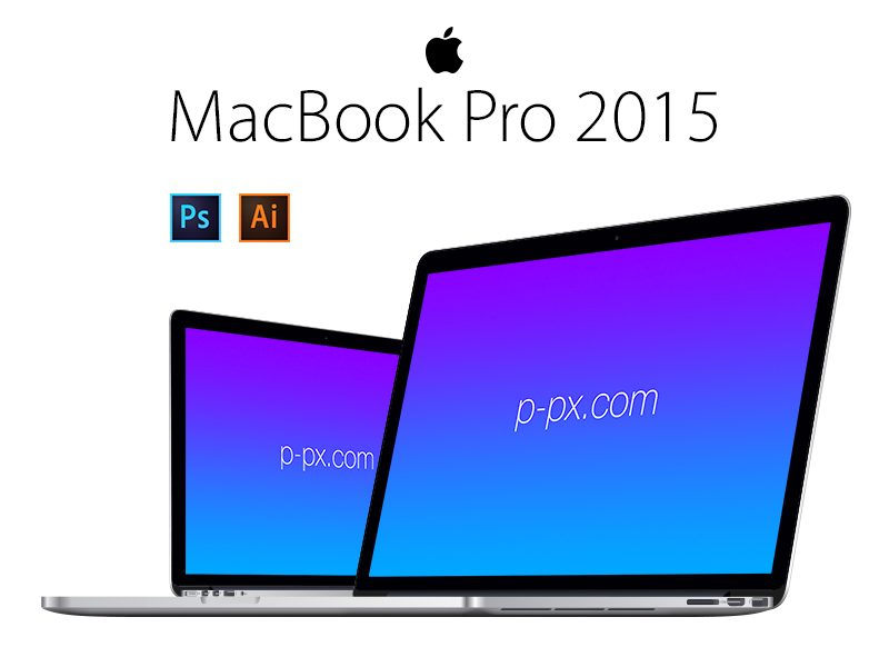 5112cc6ee4a75a1966b2d4212ebf1b3e - MacBook Pro 2015 Angled View PSD + Ai Free Vector Template