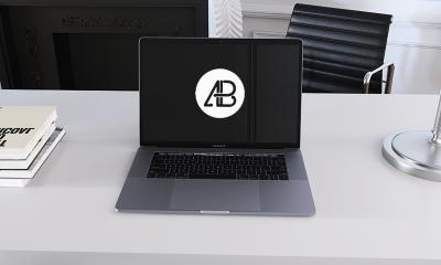 55cb4ab31689d3ec3039ea420d016a87 400x240 - Realistic 2016 Space Gray MacBook Pro Mockup vol.6