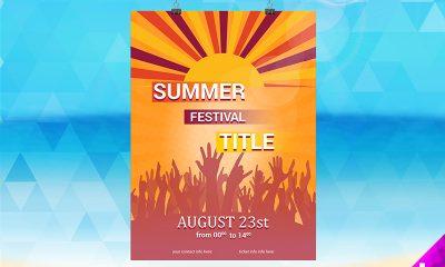 56623083b33d6790bcd5c8f2efabdaf0 400x240 - Summer Festival Flyer