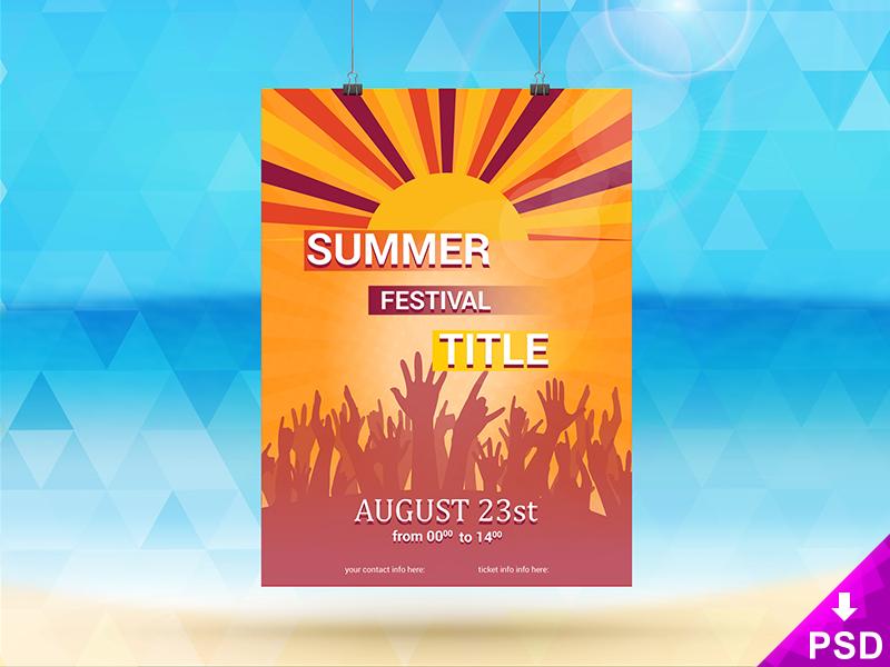 56623083b33d6790bcd5c8f2efabdaf0 - Summer Festival Flyer