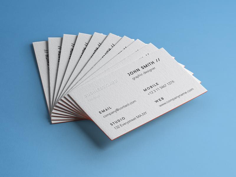 56ca1afc9f37247b81a2764d5150f4aa - Free Psd Business Card Mockup