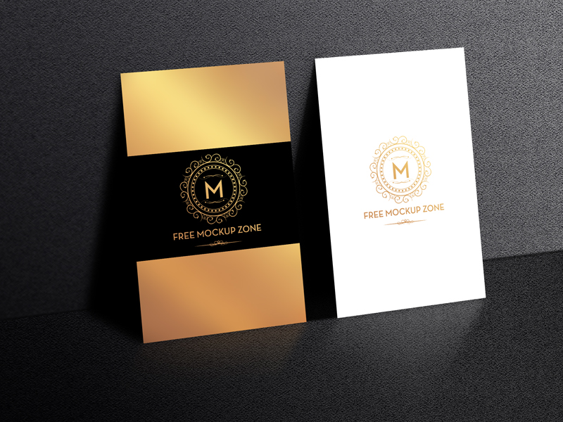 5718cb0f25909e16f142d267c3602f02 - Free Standing Display Business Card Mockup