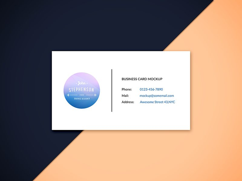59f9dc375ac44911feb898601685d838 - Freebie - Business Card Mockup