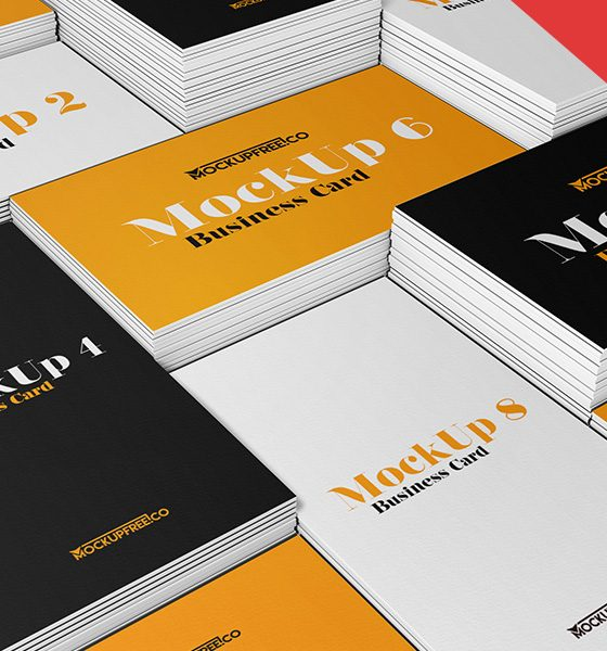 5b06808b4d99b3f4e87a13733dd9dfd1 560x600 - Business Card v2 – 3 Free PSD Mockups