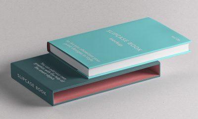 5b14cc7819db8c50e15e662ea3cafeb1 400x240 - Free Psd Slipcase Book Mockup