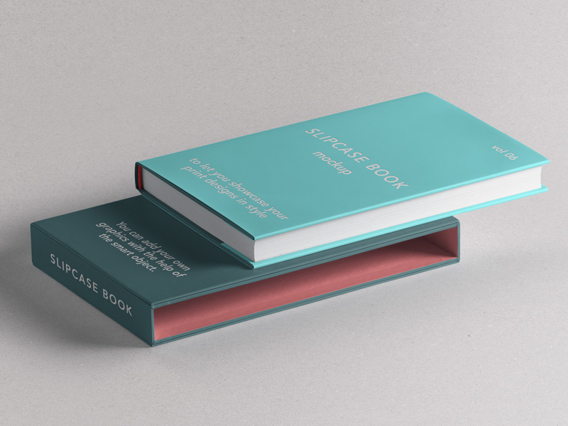 5b14cc7819db8c50e15e662ea3cafeb1 - Free Psd Slipcase Book Mockup