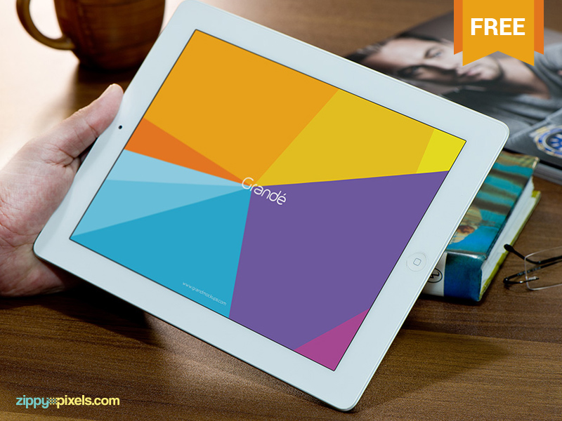 5c9967c4f92849d04bf6bacadfca5bce - Free Photorealistic Device Mockup of iPad