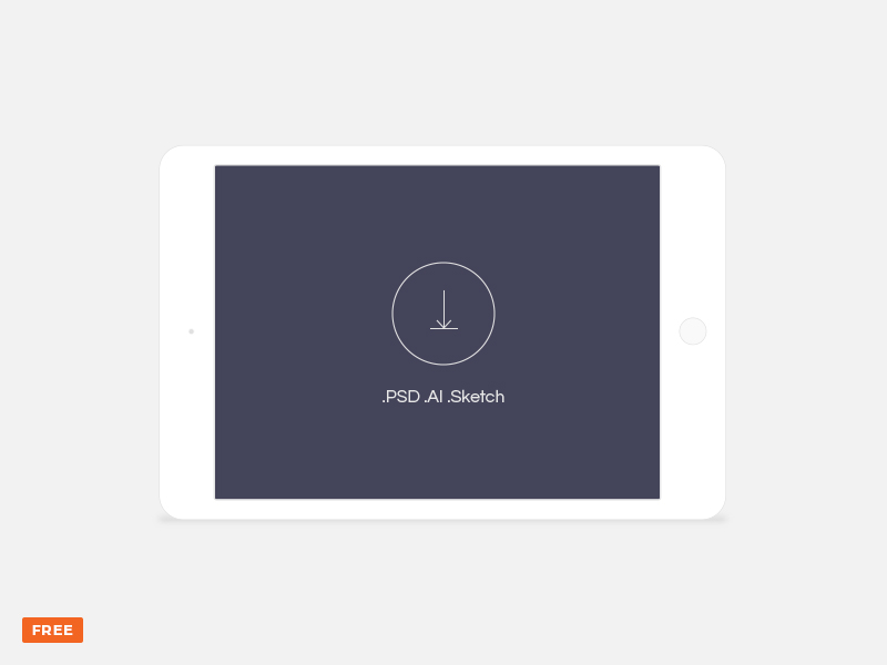 5ca8417225e264ade3207741fa42fd91 - Free minimal light landscape tablet mockup