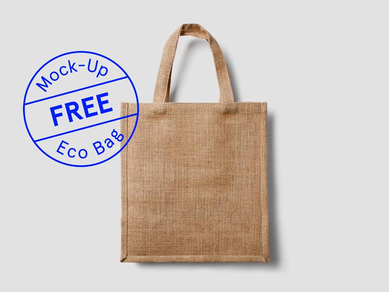 5d1624e0373228d469099447b082d156 - Free Eco Bag Mockup