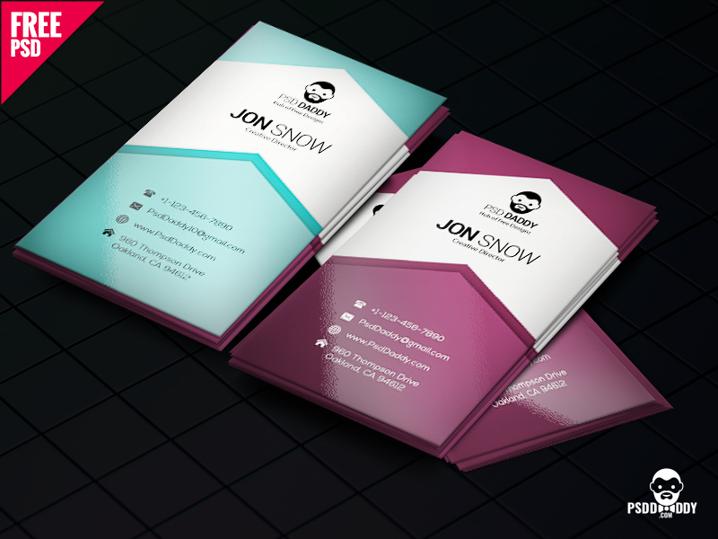5db19348c08d254d99189d5baca2b2bb - Creative Business Card PSD Free Download