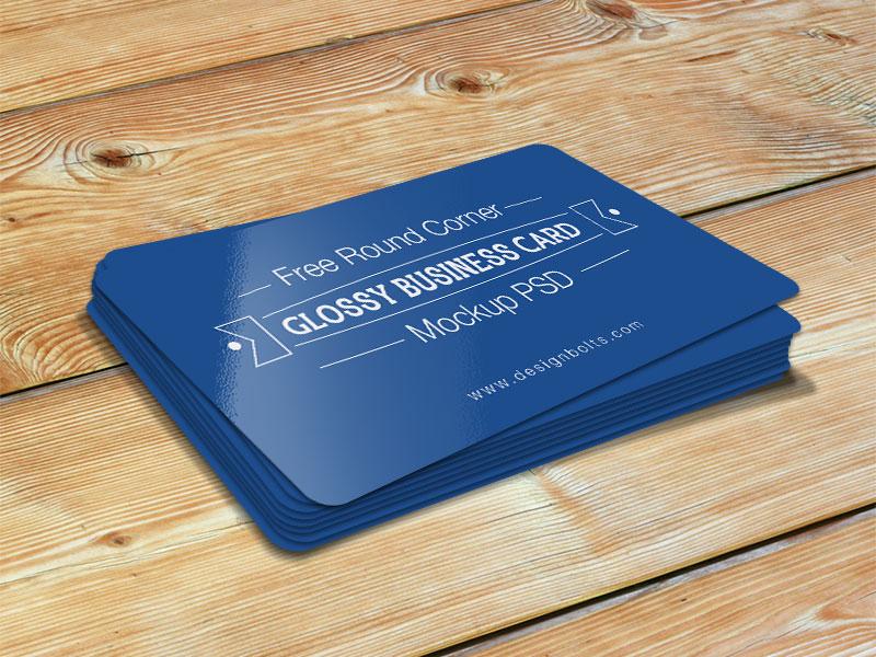 5f85c4fa209f168f002d6824be7019e6 - Free Round Corner Glossy Business Card Mockup Psd