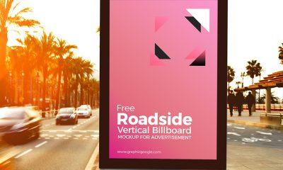 6178a400b0e6f2a7cae6799ade891bf1 400x240 - Free Roadside Vertical Billboard MockUp For Advertisement
