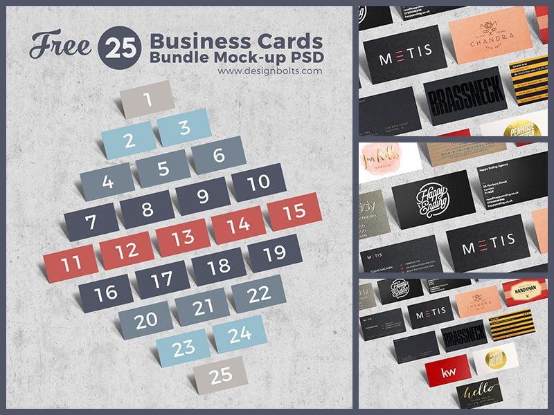 663db417ca6188fd526a05dc17bfa2bd - Free Business Cards Bundle Mock-up PSD