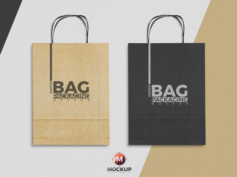 66555087416d411a8979b5a1721c9e8e - Free Paper Bag Mockup To Showcase Packaging Designs