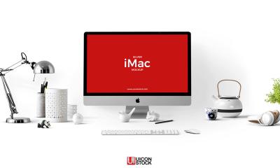 67a3f449032e4eb4665088ce0715d1f6 400x240 - Free Silver iMac Mockup PSD Template