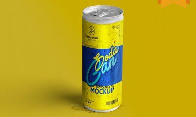 68950b54b191690d91bb4c025e77f625 400x240 - Free Soda Can Mockup