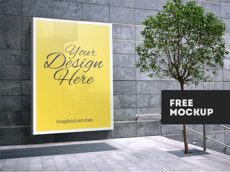 693f7377533b77fc8445fb9c78135029 - Outdoor Advertising Mockup #1