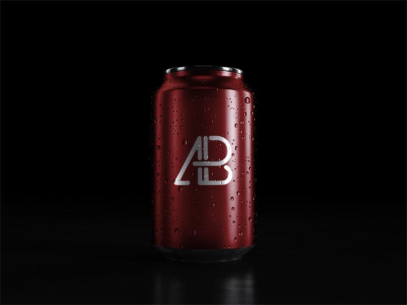 69eb195f170ef29149636faa3d3512cc - 5k Soda Can With Water Drops Mockup