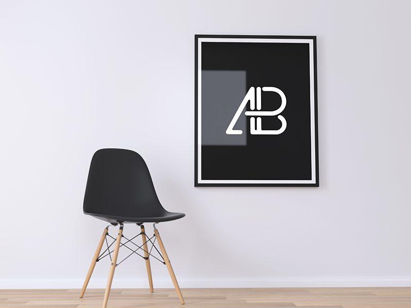 6c2e1d926acdb32400a006234f03a673 - Poster Frame PSD Mockup