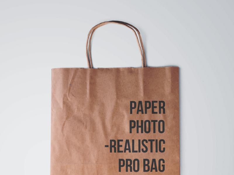 6f0f44220fb6a791315787de01e22598 - Paper Bag Mockup
