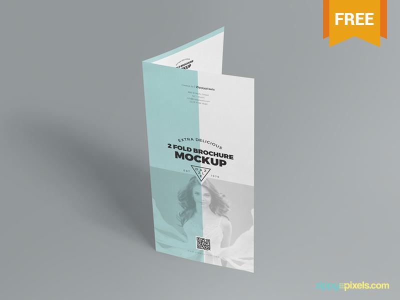 6f3c26acb678cebba2862221d1b34375 - Free 2 Fold Brochure Mockup
