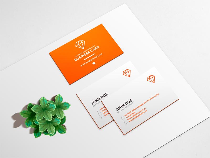 72bdc20a6f26dfebbb9ead40f2e76324 - Beautiful Business Card Mockup PSD