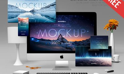 735e9721423a296df29fe22c27040b45 400x240 - Screens with iMac Pro – 2 Free PSD Mockups