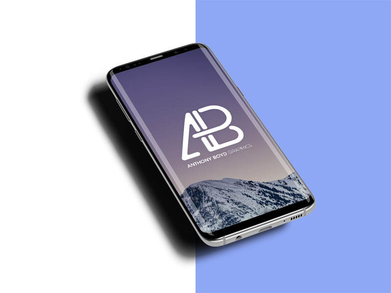 73a9a57e4904cb5b379f95d9fb883f48 - Samsung Galaxy S8 Plus Mockup With changeable Background