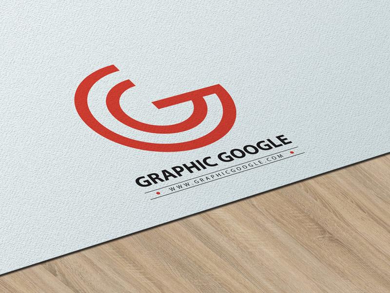 75b05d070b2faa7ed8381861e7017e39 - Free Texture Paper Logo PSD Mockup