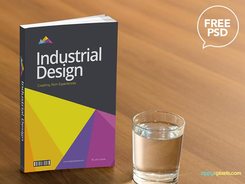 75c8e00443df577a81d62b4af29a3f98 - Free Book Cover PSD Mockup
