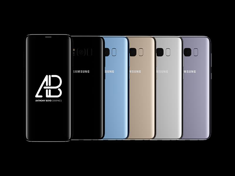 760fcfe8b59e894637c3e38d89da075b - Premium Samsung Galaxy S8 Plus Mockup