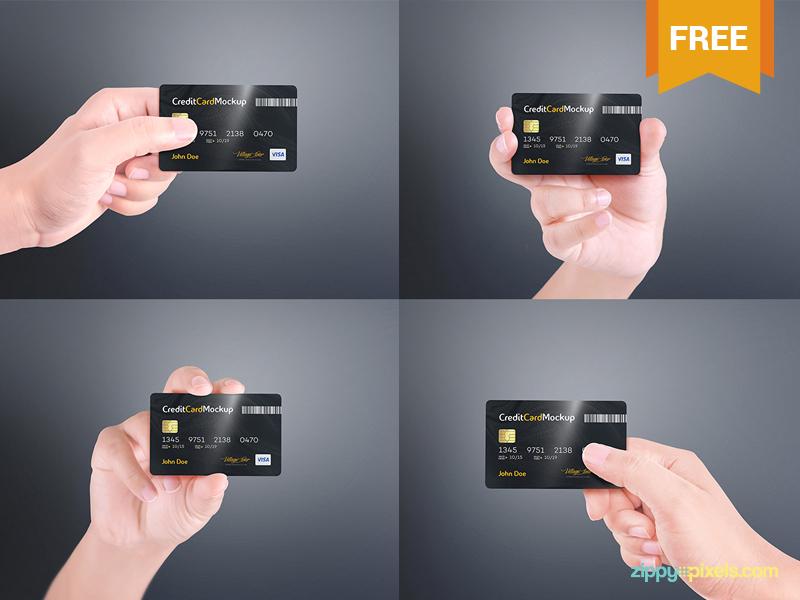 76143cf0370e7d86bd5e4a86a84c1e29 - Free Credit Card Mockup