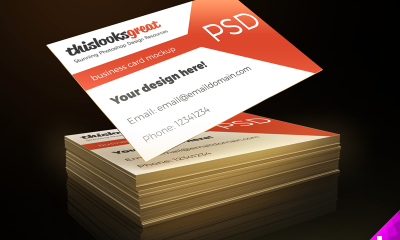 7618aa795e68ba3a2fdc015662cd6e14 400x240 - Business Card Freebie Mockup PSD