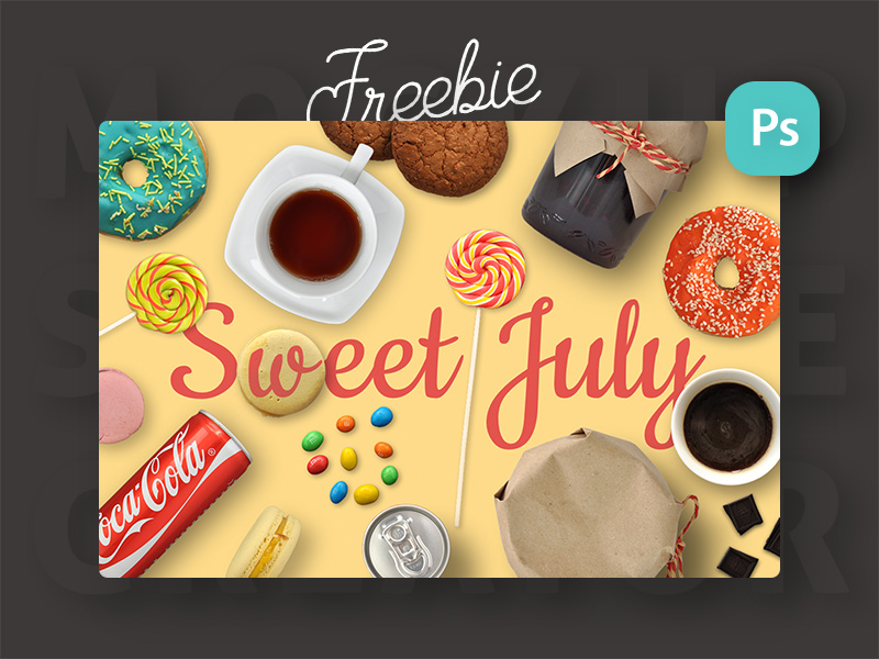 7b9bfcf62941041b3d0d88935e449557 - Freebie: Sweet July. Mini Scene Creator