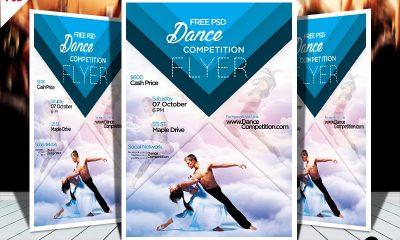 7beb6a5fc02738da1e382733050fae57 400x240 - Dance Competition PSD Flyer Template Free Download