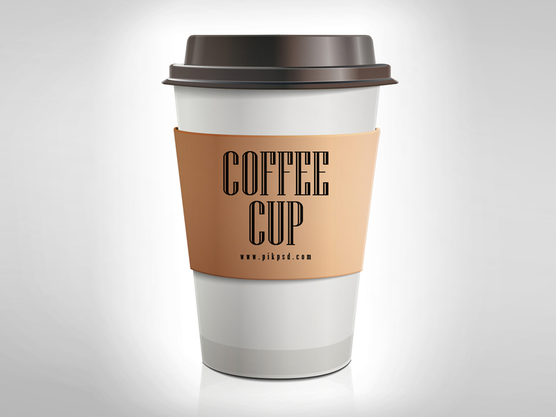 7ce2734cdef5785973a3bcd194d827b2 - Free Brown Paper Coffee Cup Mockup Psd