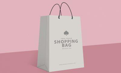 7deeb936f38b75537f558070f08fd1e1 400x240 - Free Paper Shopping Bag Mockup